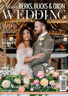 Cover of the October/November 2021 issue of Your Berks, Bucks & Oxon Wedding magazine