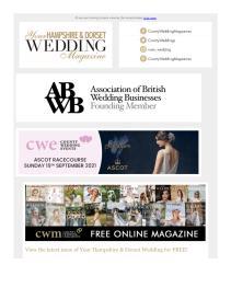 Your Hampshire and Dorset Wedding magazine - July 2021 newsletter