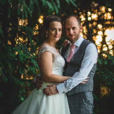 Rustic romance for Tracey and Aaron