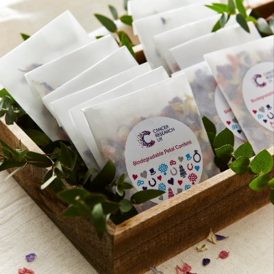 New wedding favours collection from Cancer Research