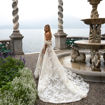 Date set for world debut of leading bridalwear designer's new collection at Hampshire bridal boutique