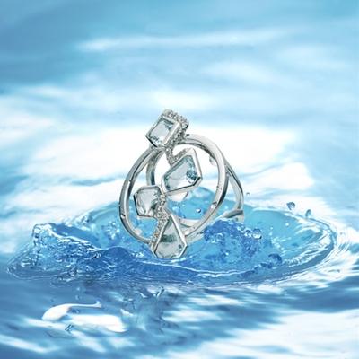 Diamonds are a bride's best friend