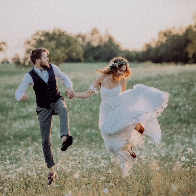 Get those dancing shoes on - weddings are restriction free!