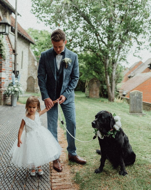 Flowergil and flowerdog