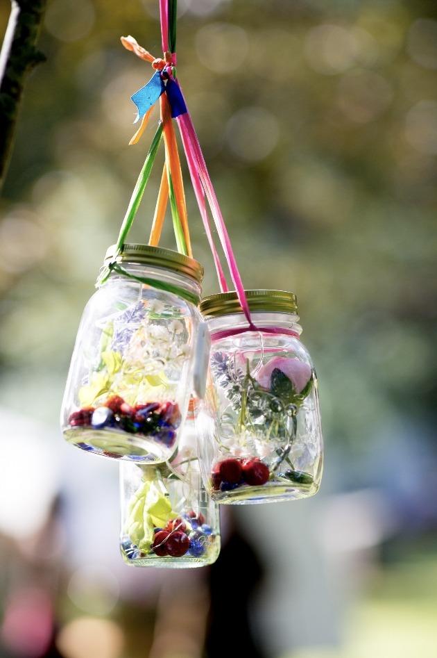 Jar decorations