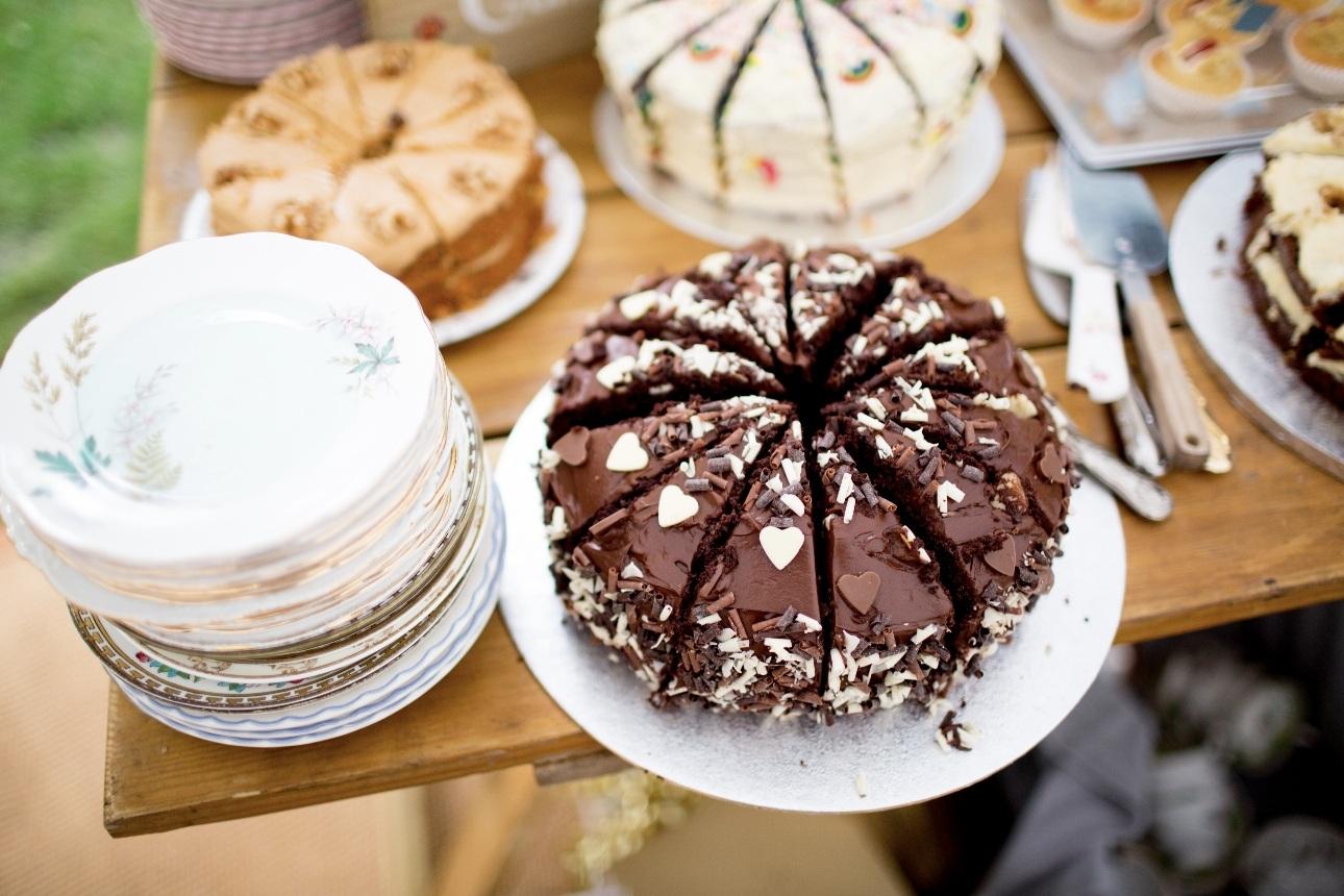Selection of sweet treats