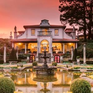 The Italian Villa at Compton Acres